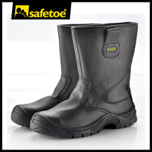 Steel Toe with Steel Midsole Safety Boots H-9001 pictures & photos