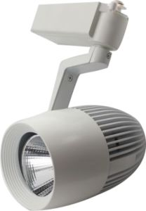 20W Dimmable LED Track Light Epistar COB 1600lm
