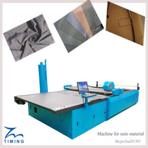 Computerized CNC Apparel Fabric Cutting Machine, Automatic Cloth Cutting Bed pictures & photos