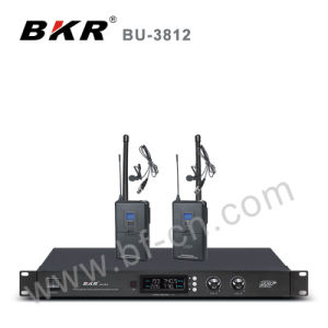 Bu-3812 UHF 2 Channel Conference Wireless System pictures & photos