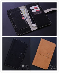 Embossing Customized Leather Mobile/Cell Phone Cover for iPhone6/6s Case pictures & photos