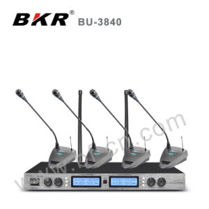 Bu-3840 Stable UHF Wireless Meeting Microphone System