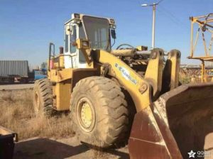 Used Kawasaki Loader Kawasaki 90z Wheel Loader for Sale pictures & photos