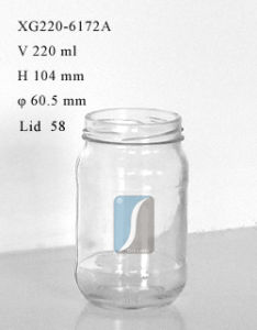220ml Pickle Food Storage Glass Jar, Glass Jam for Wholesale pictures & photos