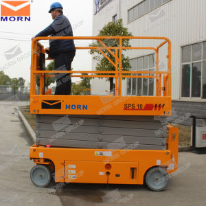 10m Height Battery Scissor Lift for Aerial Work pictures & photos