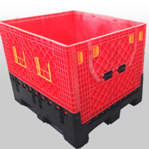 Logistic Plastic Pallet Foldable Bins pictures & photos