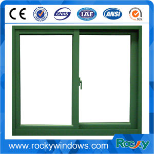 Insulated Low E Glass Aluminum Alloy Sliding Windows pictures & photos