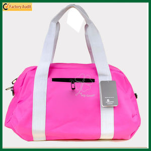 Multi-Functional Cute Tote Bag Pink Travel Bag (TP-TLB054) pictures & photos