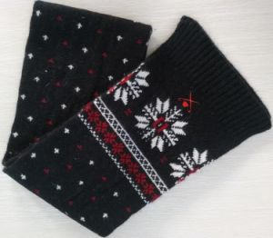 Winter Warm Knit Scarf (FB-90526) pictures & photos