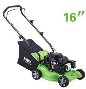 16inch Plastic Deck Hand Push Gasoline Lawn Mower (XYM158-1CP)