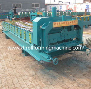 Custom Galvanized Glazed Tile Roll Forming Machine (XH860) pictures & photos