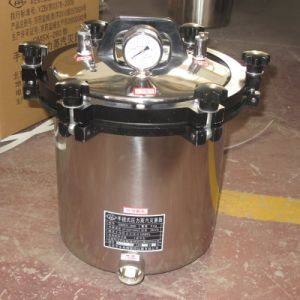 Medical or Laboratory Portable Pressure Steam Sterilizer pictures & photos