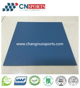 Seamless Resilient Spua Flooring Reduce Injury Impact When Falling Down pictures & photos