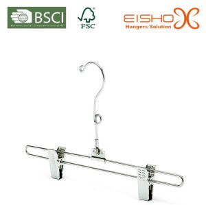 Chrome Metal Hanger with Clips for Skirt pictures & photos