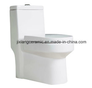 Ceramic Wc One-Piece Toilet 11# Super Siphonic with Saso/Ce pictures & photos