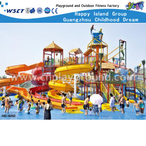 High Quality Fiber Glass Water Park Slide for Sale (HD-6201) pictures & photos