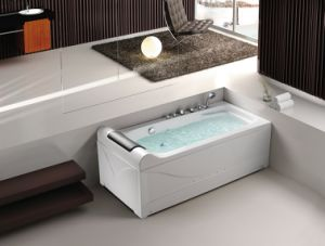 One Person Acrylic Jacuzzi Massage Bathtub Ba-M213 pictures & photos