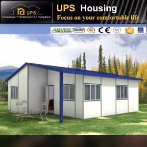 ISO Certificated New Design Three Bedroom Economic Prefab House Villa pictures & photos