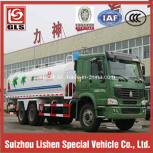 6X4 HOWO 13000L Water Tank Truck pictures & photos