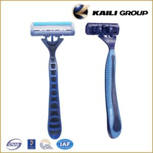 Men Disposable Razor- Triple Blade Popular Style pictures & photos