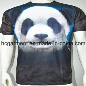Short Sleeve 3D /Sublimation Printed T- Shirt for Man pictures & photos