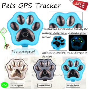 2017 Hot Sell Waterproof Pets GPS Tracker with Light (V30) pictures & photos