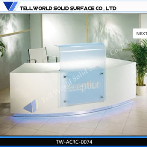 Tw Elegant Fancy Design Salon Reception Counter Parlour Front Desk (TW-PART-144) pictures & photos
