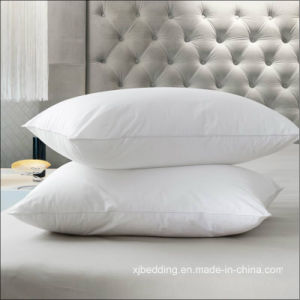 Cozy Comfort Bed Pillow, Duck Feather Pillow with Cotton Cover pictures & photos