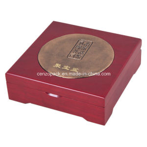 Red Classic Wooden Jewelry Storage Box