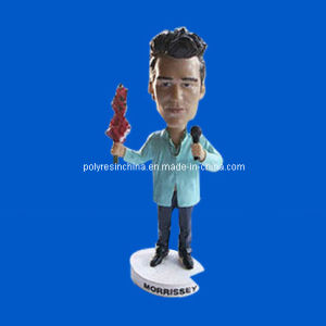 Custom Polyresin Music Bobble Head pictures & photos