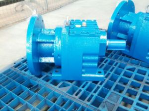 Inline R Series Geared Motors R77 with Flange Input