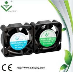 Waterproof IP68 Mini DC Cooling Fan 25X25X10mm pictures & photos