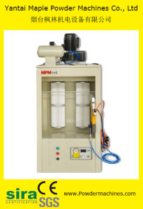 Powder Coating Spray Chamber/Booth with Cleaning Air Blow Gun pictures & photos