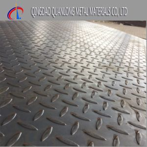 Tear Drop Pattern Carbon Checkered Steel Plate pictures & photos