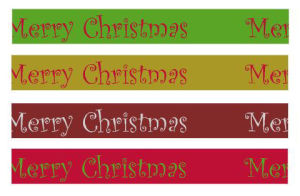 2014 Hot Sale Christmas Gift Ribbon