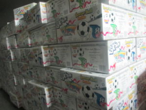 25g Soccer Ball Big Bubble Gum Roll pictures & photos