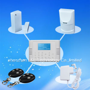 30 Wireless + 8 Wired Defense Zones Home Security GSM & PSTN Alarm System with Touch LCD (L&L-816)
