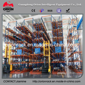Industrial Warehouse Narrow Aisle Pallet Racking pictures & photos