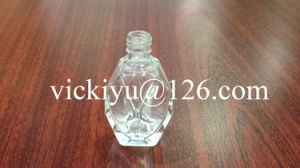 14ml Polyhedron-Shaped Small Glass Bottle