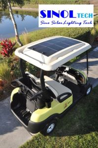 100W 12V DC Thin Film Flexible Solar Panel for Golf Cart pictures & photos