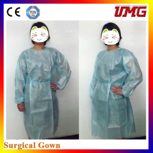No-Woven Surgery Gown, Isolation Gown Dental Disposable Material pictures & photos