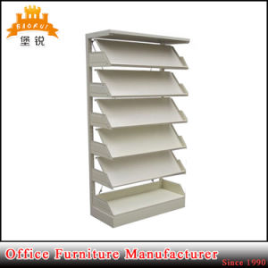 Book Store Shelving/Library Magazine Rack/Retail Magazine Display Shelvings pictures & photos
