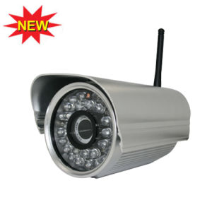 Infrared Wireless IP Camera, H. 264, CCD Sensor pictures & photos