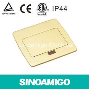 IP44 TUV CE Copper Pop up Floor Socket Function Floor Receptable Outlet Ground Supply Socket pictures & photos