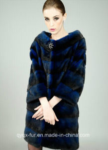 2014 New Mink Coat Female Models in The Long Section Entire Mink Mink Fur Coat Hf201 pictures & photos
