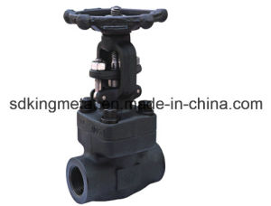 NPT Thread Forged Steel 300lbs Gate Valve pictures & photos