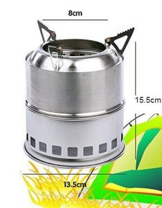 Backpacking Camping Stove with Wood Stove