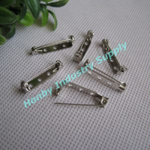 Jewelry Finding Glue-on Swivel Locking Metal Brooch Bar Pin pictures & photos