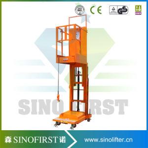 4.5m Hydraulic Lift Vertical Welding Lift Platform Orderpickers Working Platform pictures & photos