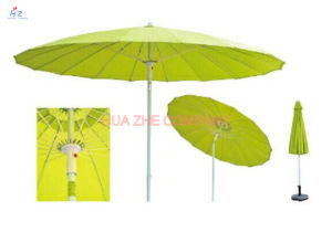 Pation Umbrella Outdoor Umbrella Garden Umbrella with Fiberglass Umbrella (Hz-S041) pictures & photos